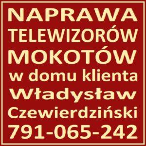 Naprawa Telewizorów Warszawa Mokotów 791-065-242 Serwis RTV