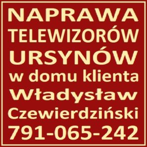 Naprawa Telewizorów Ursynów