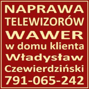 Naprawa Telewizorów Warszawa Wawer 791-065-242 Serwis RTV