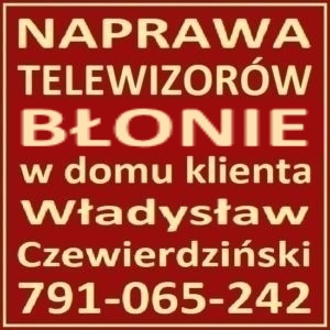 Naprawa Telewizorów Błonie