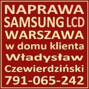 Naprawa LCD Samsung