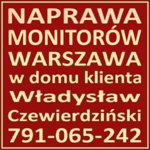 Naprawa Monitorow