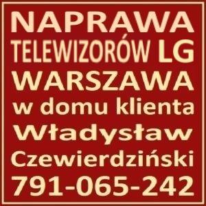 Naprawa Telewizorów LG Warszawa