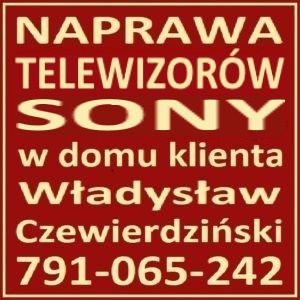 Naprawa Telewizorów Sony