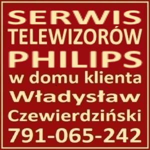 Philips Telewizory Serwis