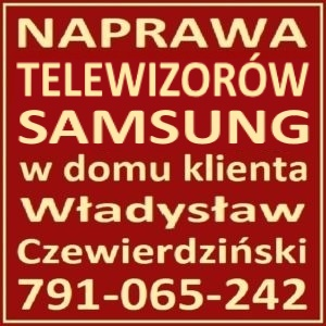 Serwis Samsung RTV