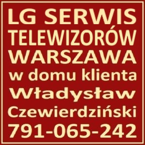 Telewizor LG Serwis