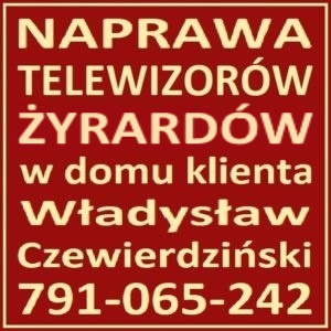 Naprawa Telewizorów Żyrardów