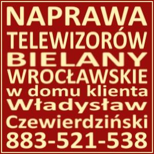 Naprawa Telewizorów Bielany Wrocławskie 883521538