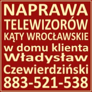 Naprawa Telewizorów Kąty Wrocławskie 883521538