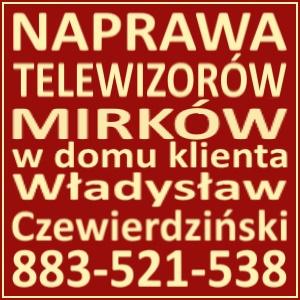 Naprawa Telewizorów Mirków 883521538
