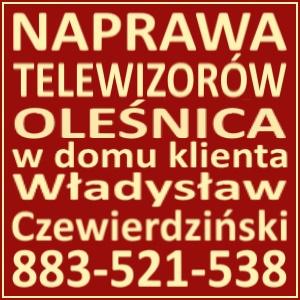 Naprawa Telewizorów Oleśnica 883521538
