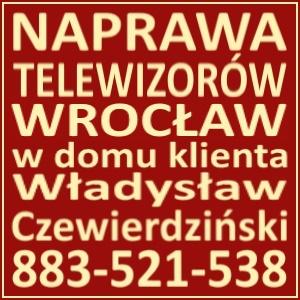 Naprawa Telewizorów Wrocław 883521538