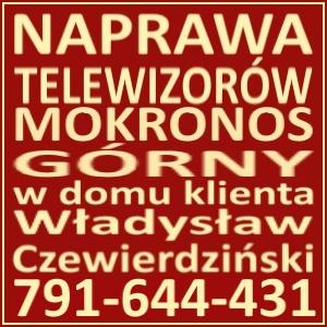 Naprawa Telewizorów Mokronos Górny 791644431