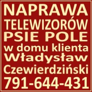 Naprawa Telewizorów Psie Pole 791644431