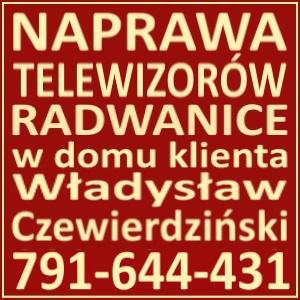 Naprawa Telewizorów Radwanice 791644431