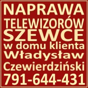 Naprawa Telewizorów Szewce 791644431