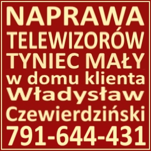 Naprawa Telewizorów Tyniec Mały 791644431