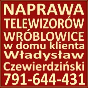 Naprawa Telewizorów Wróblowice 791644431